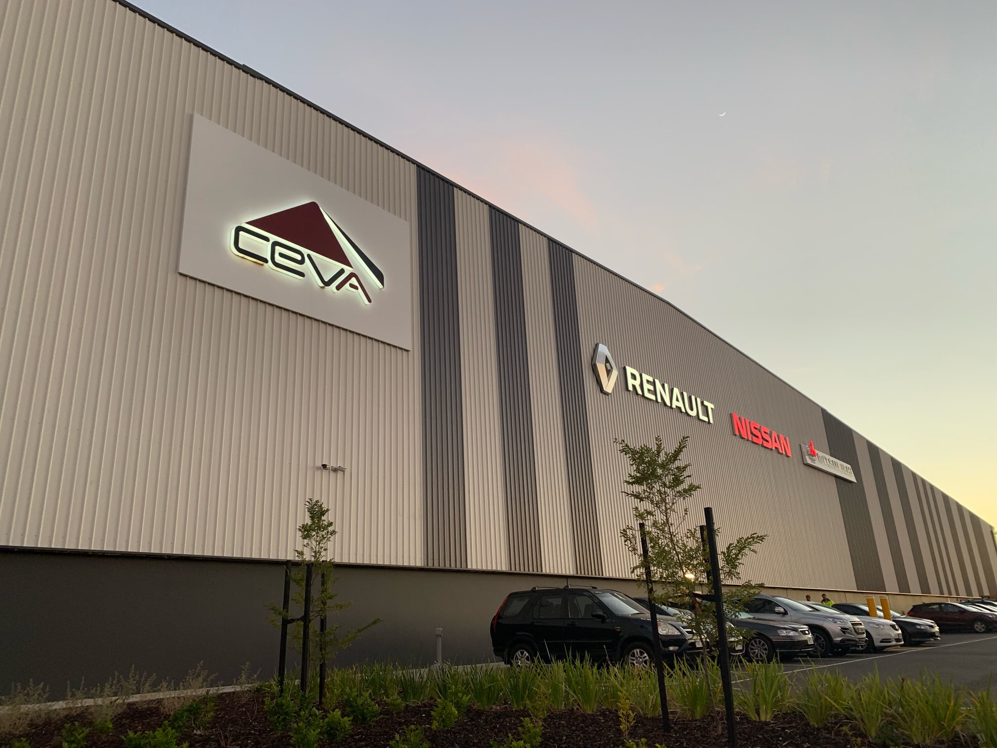 CEVA Property sign warehouse