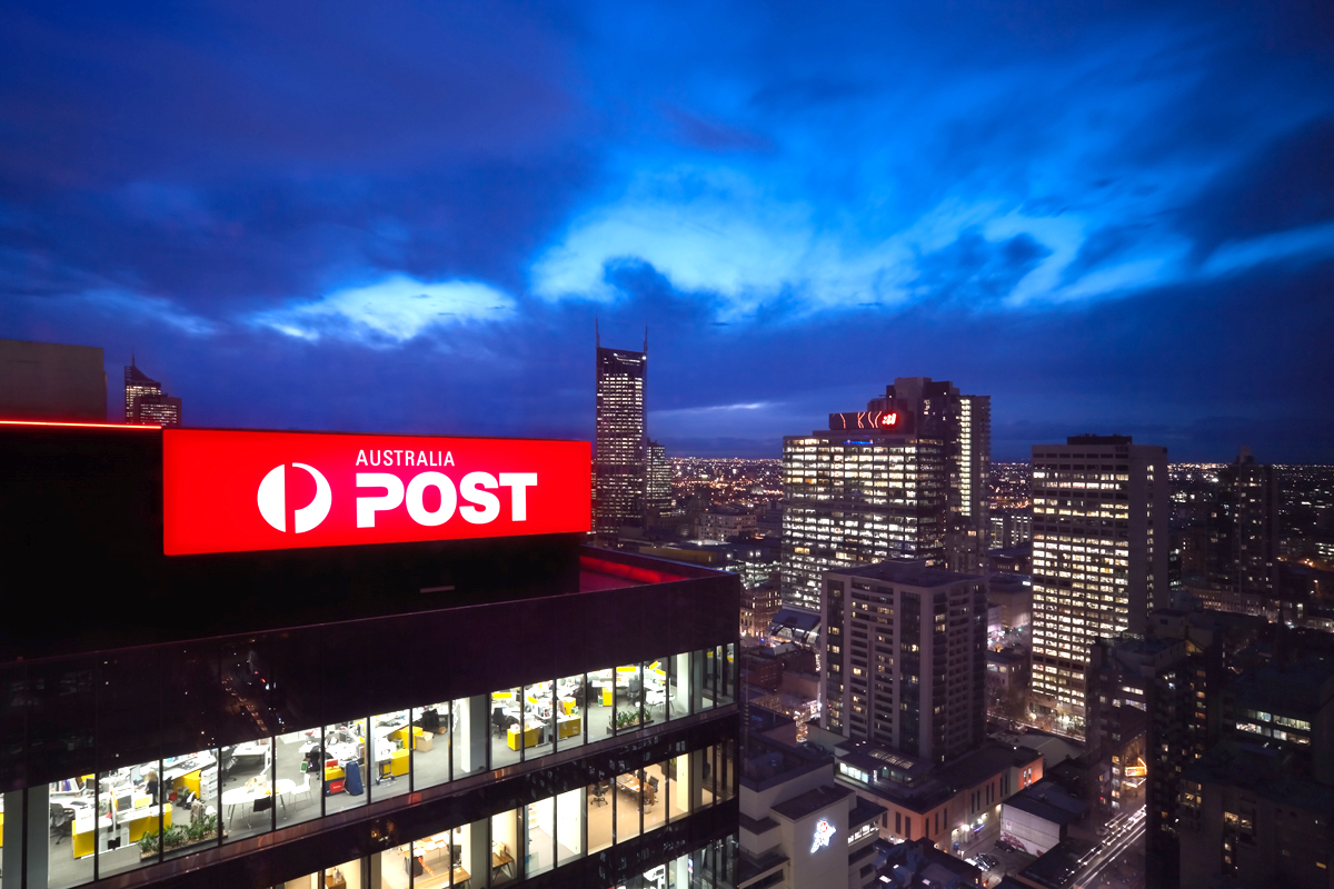 Australia Post Sky Sign SignManager