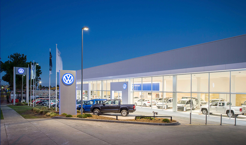 VW signage design