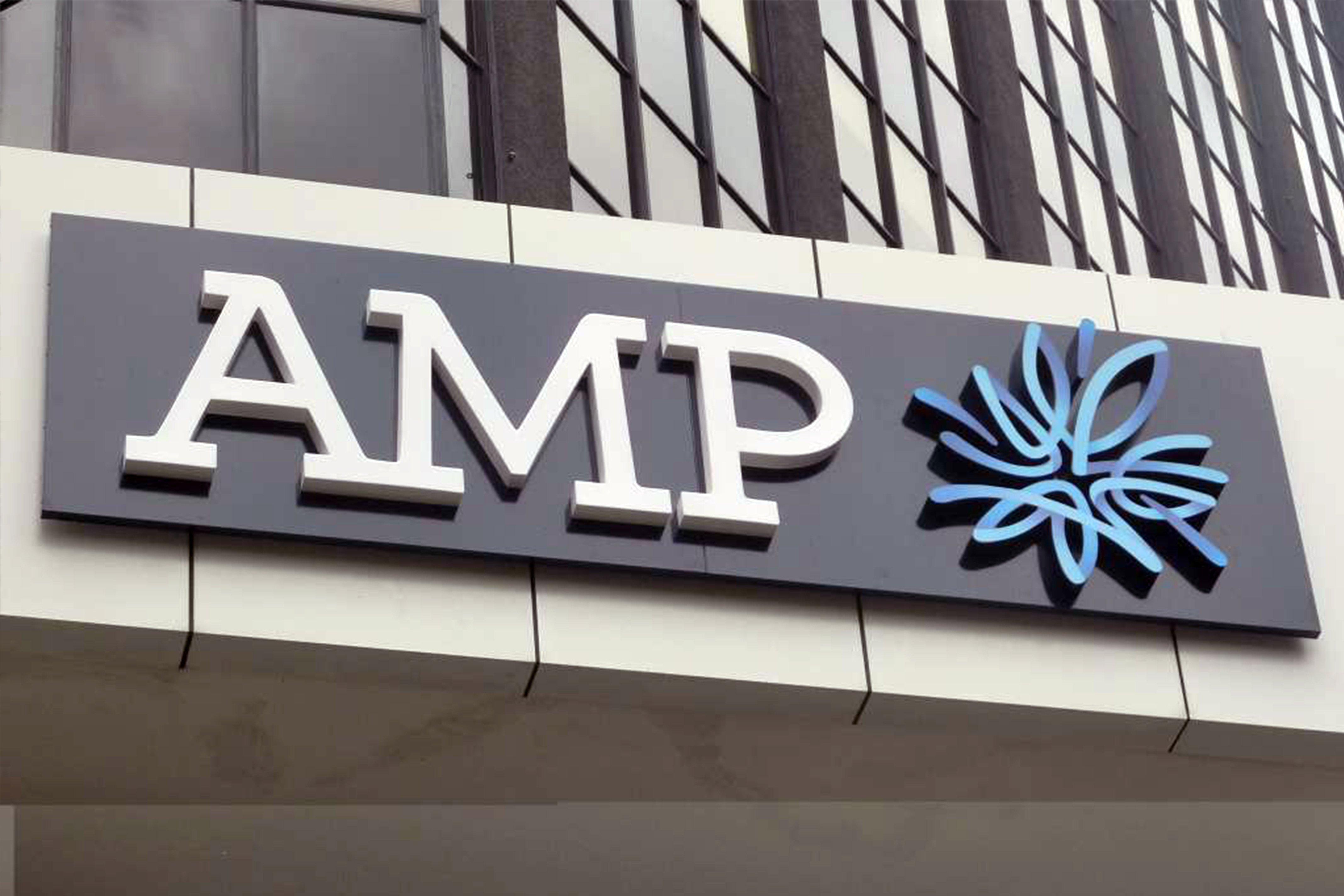AMP sky sign